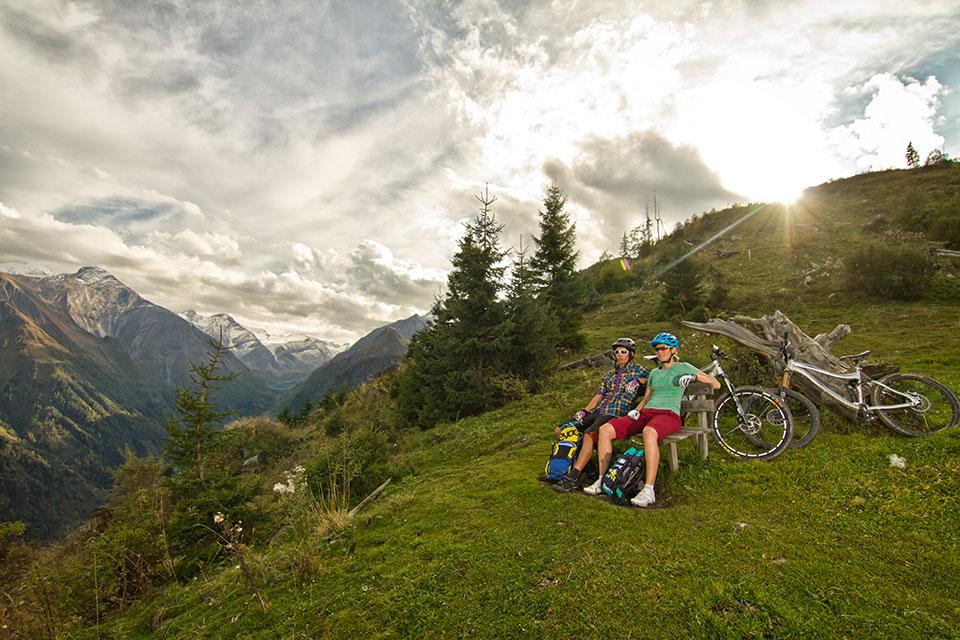 Mountainbike holidays active by leitner 39 s kaprun for Urlaub designhotel