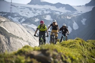 Freeride Bike am Kitzsteinhorn